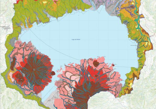 Mapa Geomorfológico Atitlán