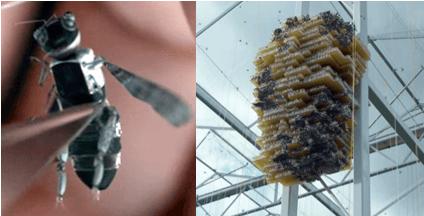 abejas robóticas