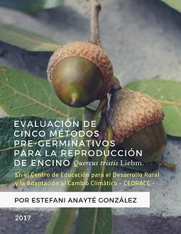 Evaluación de 5 métodos pregerminativos para la reproducción del encino